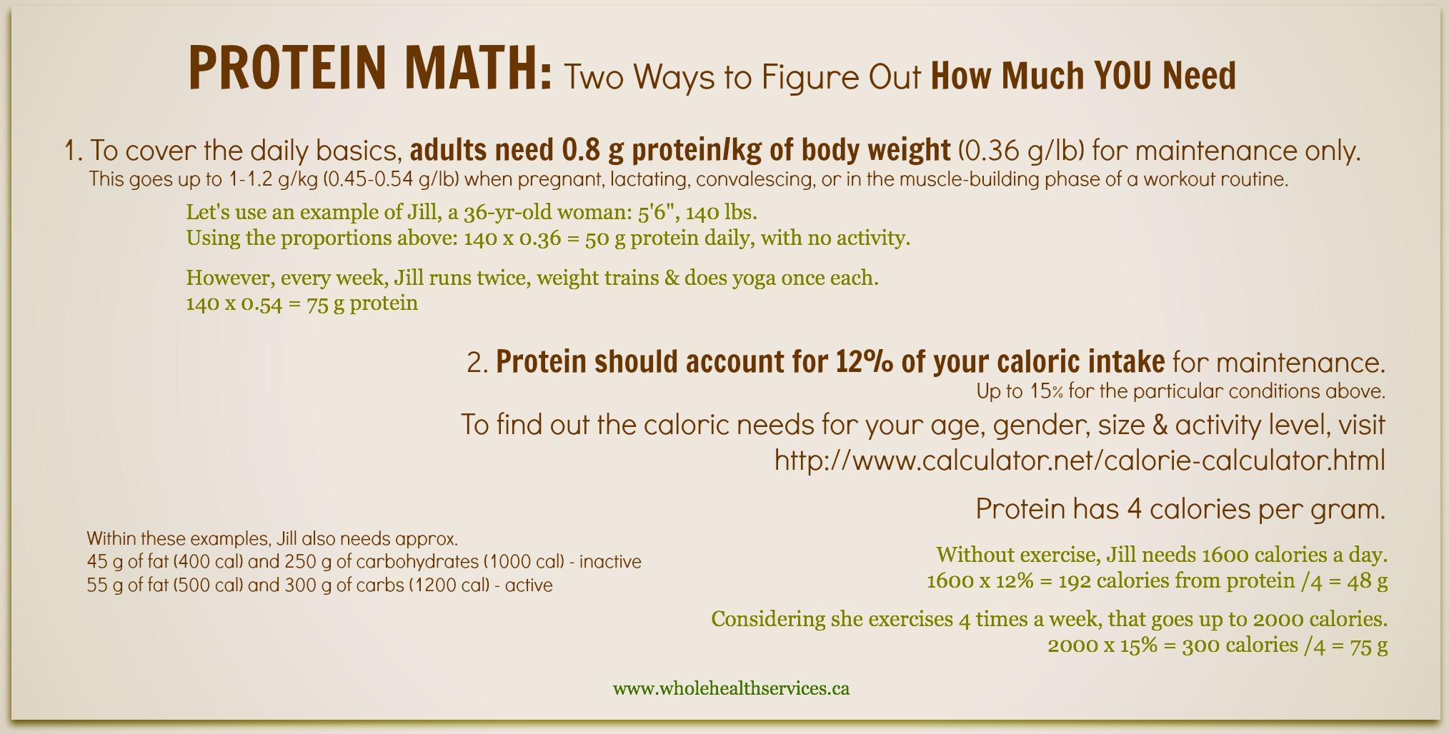 Protein Math 2