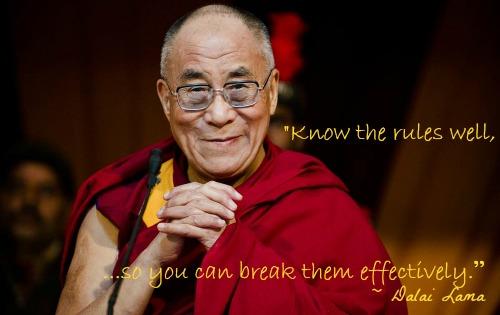 Dalai Lama rules