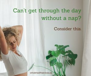 Need a Nap? Consider this.