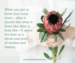 listen to your body as part of the healing conversation